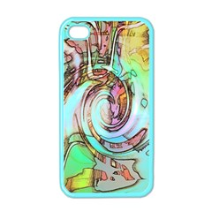 Art Pattern Apple iPhone 4 Case (Color)