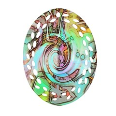 Art Pattern Ornament (Oval Filigree)
