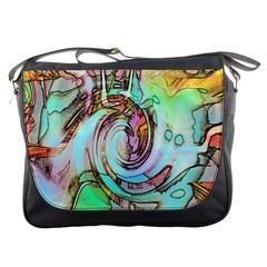 Art Pattern Messenger Bags