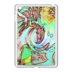 Art Pattern Apple Ipad Mini Case (white)