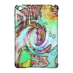 Art Pattern Apple Ipad Mini Hardshell Case (compatible With Smart Cover)
