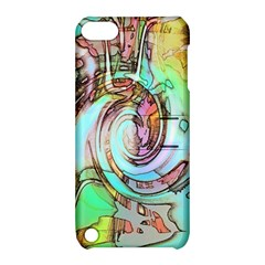 Art Pattern Apple Ipod Touch 5 Hardshell Case With Stand