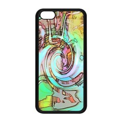 Art Pattern Apple Iphone 5c Seamless Case (black)
