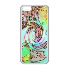 Art Pattern Apple iPhone 5C Seamless Case (White)