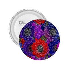 Colorful Background Of Multi Color Floral Pattern 2.25  Buttons
