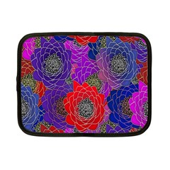 Colorful Background Of Multi Color Floral Pattern Netbook Case (Small)