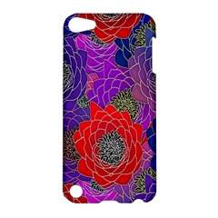 Colorful Background Of Multi Color Floral Pattern Apple iPod Touch 5 Hardshell Case