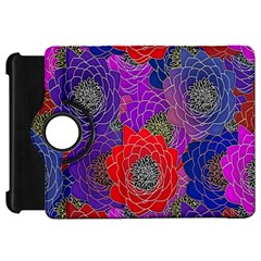 Colorful Background Of Multi Color Floral Pattern Kindle Fire HD 7