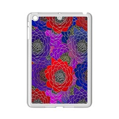 Colorful Background Of Multi Color Floral Pattern iPad Mini 2 Enamel Coated Cases