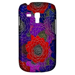 Colorful Background Of Multi Color Floral Pattern Galaxy S3 Mini