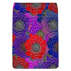Colorful Background Of Multi Color Floral Pattern Flap Covers (l)