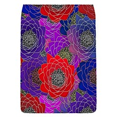 Colorful Background Of Multi Color Floral Pattern Flap Covers (S)