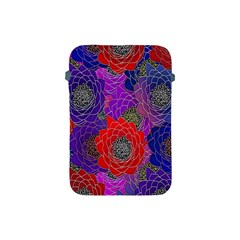 Colorful Background Of Multi Color Floral Pattern Apple Ipad Mini Protective Soft Cases