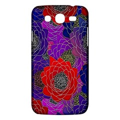Colorful Background Of Multi Color Floral Pattern Samsung Galaxy Mega 5.8 I9152 Hardshell Case