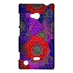 Colorful Background Of Multi Color Floral Pattern Nokia Lumia 720