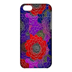 Colorful Background Of Multi Color Floral Pattern Apple Iphone 5c Hardshell Case