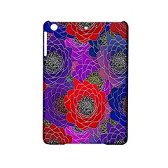 Colorful Background Of Multi Color Floral Pattern Ipad Mini 2 Hardshell Cases