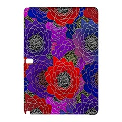 Colorful Background Of Multi Color Floral Pattern Samsung Galaxy Tab Pro 10.1 Hardshell Case