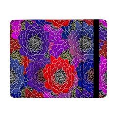 Colorful Background Of Multi Color Floral Pattern Samsung Galaxy Tab Pro 8.4  Flip Case
