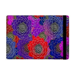 Colorful Background Of Multi Color Floral Pattern iPad Mini 2 Flip Cases