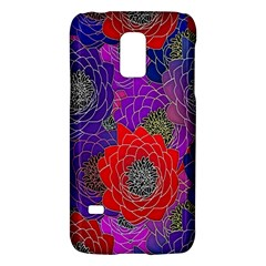 Colorful Background Of Multi Color Floral Pattern Galaxy S5 Mini