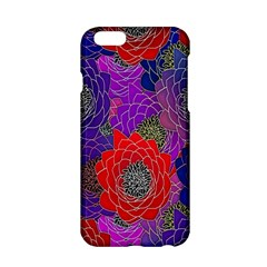 Colorful Background Of Multi Color Floral Pattern Apple Iphone 6/6s Hardshell Case