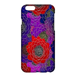 Colorful Background Of Multi Color Floral Pattern Apple Iphone 6 Plus/6s Plus Hardshell Case
