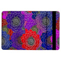 Colorful Background Of Multi Color Floral Pattern Ipad Air 2 Flip