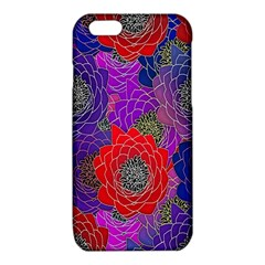 Colorful Background Of Multi Color Floral Pattern iPhone 6/6S TPU Case