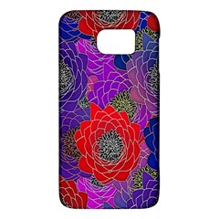 Colorful Background Of Multi Color Floral Pattern Galaxy S6