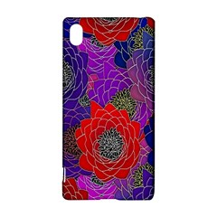 Colorful Background Of Multi Color Floral Pattern Sony Xperia Z3+