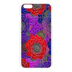 Colorful Background Of Multi Color Floral Pattern Apple Seamless iPhone 6 Plus/6S Plus Case (Transparent)