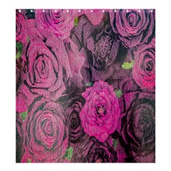 Oil Painting Flowers Background Shower Curtain 66  X 72  (large)