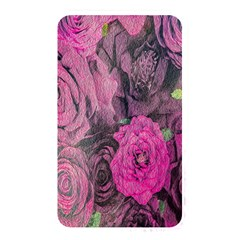 Oil Painting Flowers Background Memory Card Reader