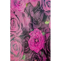 Oil Painting Flowers Background 5.5  x 8.5  Notebooks