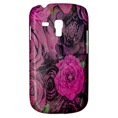 Oil Painting Flowers Background Galaxy S3 Mini