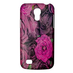 Oil Painting Flowers Background Galaxy S4 Mini