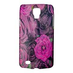 Oil Painting Flowers Background Galaxy S4 Active