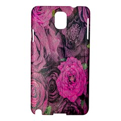 Oil Painting Flowers Background Samsung Galaxy Note 3 N9005 Hardshell Case