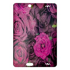Oil Painting Flowers Background Amazon Kindle Fire Hd (2013) Hardshell Case