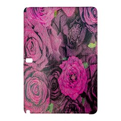 Oil Painting Flowers Background Samsung Galaxy Tab Pro 10.1 Hardshell Case
