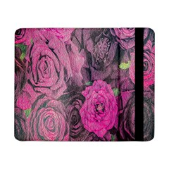 Oil Painting Flowers Background Samsung Galaxy Tab Pro 8 4  Flip Case