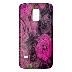 Oil Painting Flowers Background Galaxy S5 Mini