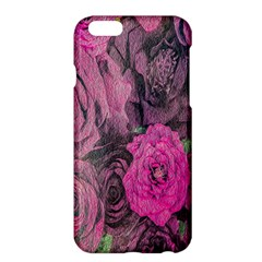 Oil Painting Flowers Background Apple iPhone 6 Plus/6S Plus Hardshell Case