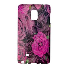Oil Painting Flowers Background Galaxy Note Edge