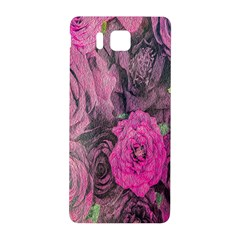 Oil Painting Flowers Background Samsung Galaxy Alpha Hardshell Back Case