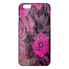 Oil Painting Flowers Background Iphone 6 Plus/6s Plus Tpu Case