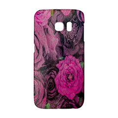 Oil Painting Flowers Background Galaxy S6 Edge