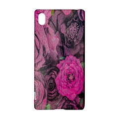 Oil Painting Flowers Background Sony Xperia Z3+