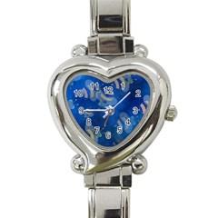 Seamless Bee Tile Cartoon Tilable Design Heart Italian Charm Watch